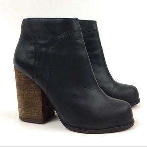 Jeffrey Campbell hanger ankle boot block heel